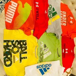 Under Armour, Nike, Adidas Lot- Boys large